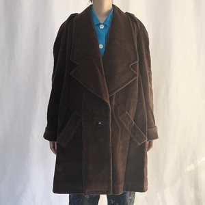 over size wool coat (V5025A)
