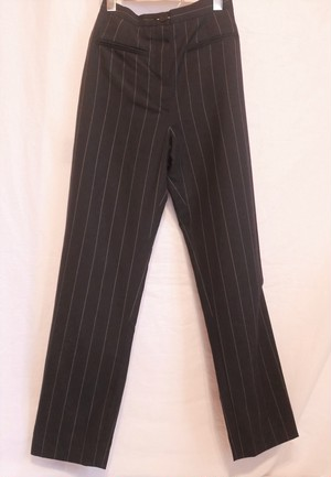 CHANEL Striped Pants -Set-Up (Pants Only)-