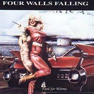 【USED】FOUR WALLS FALLING / FOOD FOR WORMS