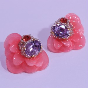 【ピアス.4】phantomFLOWER crystal