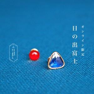 オンライン限定 ▶ 日の出富士ピアス