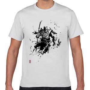 弁慶 墨絵師 御歌頭 (okazu) デザイン Tシャツ