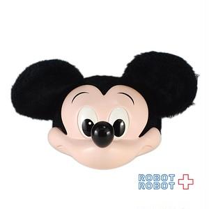ミッキーマウス 3D ファンキャップ 帽子 フリーサイズ 難あり