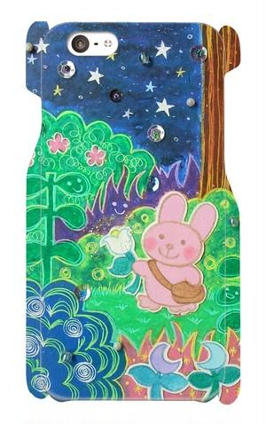 【スマホケース】夜のおさんぽ
