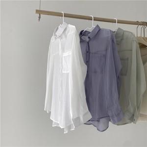 スムースシアーシャツ U4146
