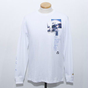 POEM LS TEE (WHITE)
