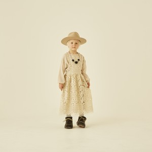 cotton lace pinafore dress