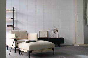 dual sofa ottoman(fabric)