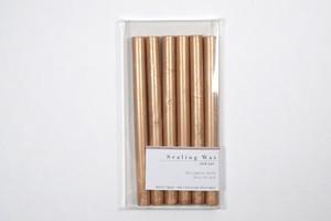 Sealing Wax stick 05.Light Gold  シーリングワックス グルーガン用 ライトゴールド