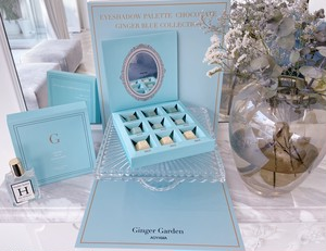 Eyeshadow palette chocolate  【GINGER BULE COLLECTION】