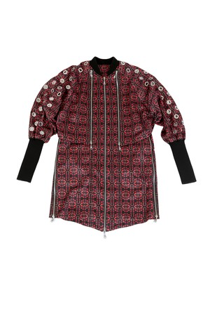 Docking Blouson (Red Pattern)
