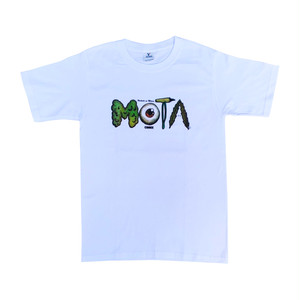 MOTA Comix Logo Tee -White-