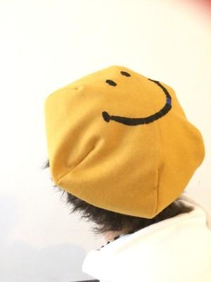 SMILE Beret Yellow