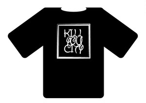 KILL YOU CITY Tシャツ
