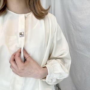 刺繍ホワイトブラウス(elie)