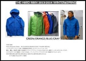 SALE!!20%OFF  送料無料 THE HARD MAN(ザハードマン)ナイロンマウンテンパーカー