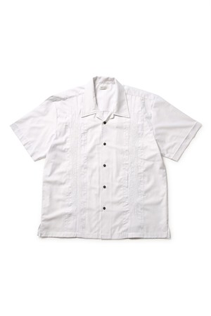 BLACK EYE PATCH CUBA SHIRT WHITE