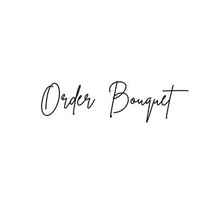 Order Bouquet & Boutonniere