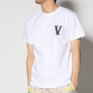 VIRGO / ヴァルゴ | PLAYER V【VALIANT】Tee - White