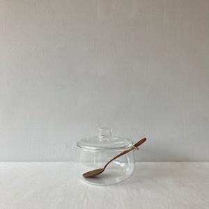 TG / Glass Sugar Bowl 196ml