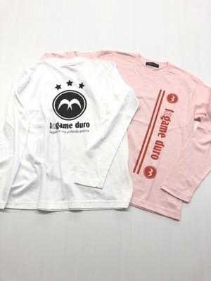 L/SロゴTシャツ