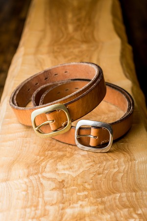 Vintage Leather Belt / Brown