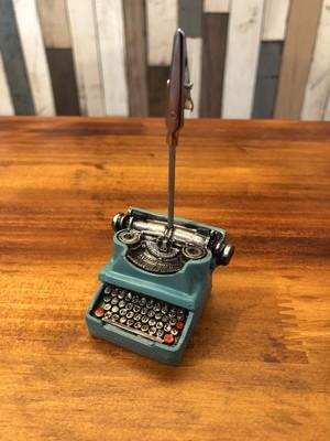 カードスタンド「タイプライター」