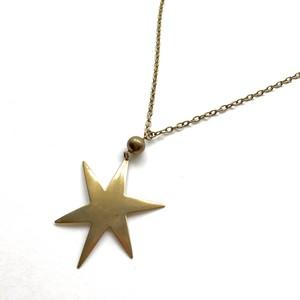 Sparkling star necklace No.803