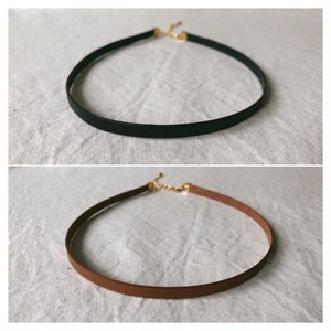 choker / light brown/ black