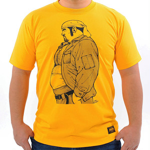 EBISUBASHI 02 TEE Gold Yellow