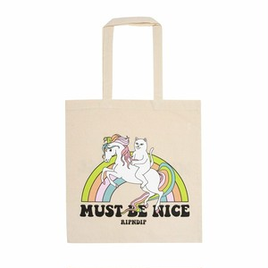 RIPNDIP - My Little Nerm Tote Bag (Natural Canvas)