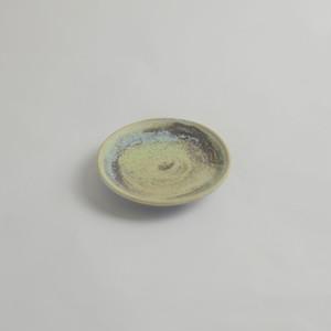 天平の甍 豆皿 大堀焼京月窯