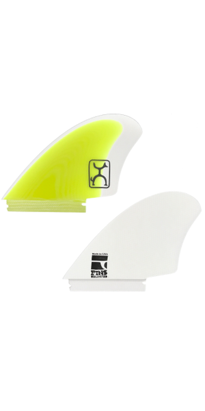 Rob Machado KEEL FIN 【WHITE×YELLOW】