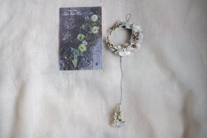 月と雫のミニリース 〜ホワイト