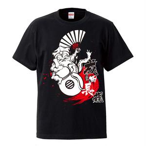 忍蛙Tシャツ(ブラック)