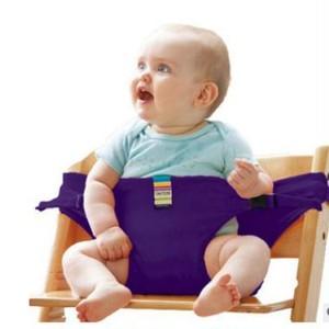 赤ちゃんとのお出かけに必需品!チェアベルト(パープル)vwab412
