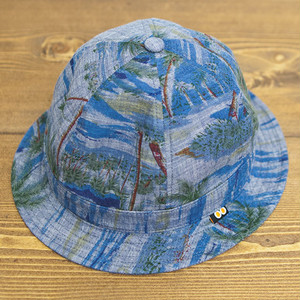 【SOLD OUT】COOCHUCAMP : Happy metro hat / beach blue