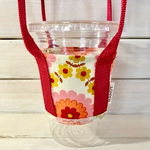 HANDYアトリエ生産 フラワーモチーフシリーズRetro Flower Pink <数量限定品>