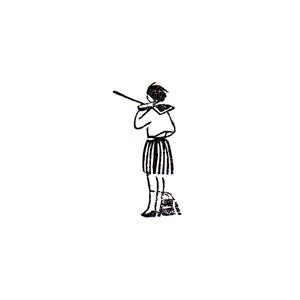 街は鳴る / ヴァイオリン(後ろ姿) Music of the people / Violin (back)