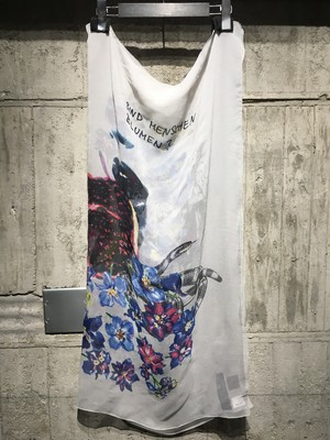 【DIET BUTCHER SLIM SKIN】 silk scarf