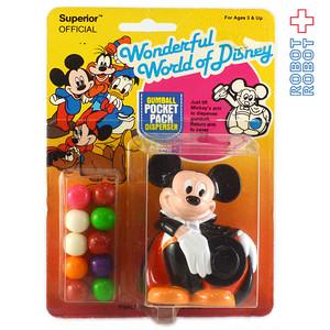 ミッキーマウス ガムボール・ディスペンサー 未開封