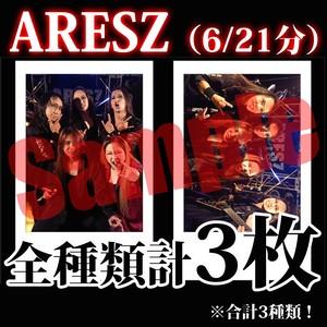 【チェキ・全種類計3枚】ARESZ(6/21分)