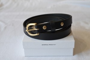UNIVERSAL PRODUCTS × TOMO NARIAI LEATHER BELT