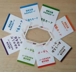 視覚支援みるみるカード「全8セット」