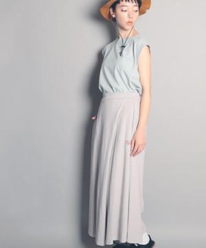 14754000【FRUIT OF THE LOOM/フルーツオブザルーム】FTL wrap flare skirt /ラップ風フレアスカート