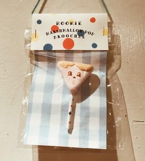 """fragola - brooch """"marshmallow pops """""""
