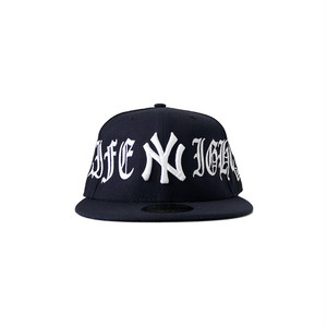 Exile World Custom New Era New York Yankees Night Life Fitted (JUGE Exclusive)