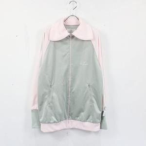 【美品】KEISUKE KANDA / ケイスケカンダ | 2020SS | ジャージミーツマスク トラックジャケット | 2 | ピンク/グレー | レディース