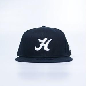 H Logo Baseball Cap ( BLACK )