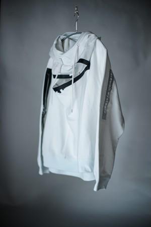 TAKAHIROMIYASHITATheSoloist. /  monster shaped sweatshirt ? ( White )